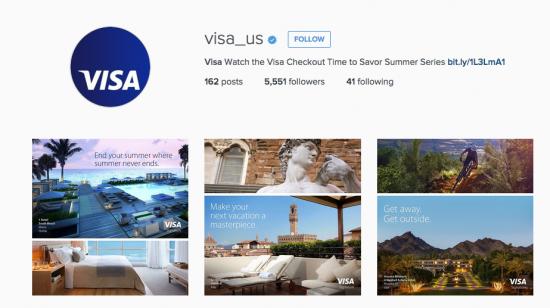 اینستاگرام ویزا