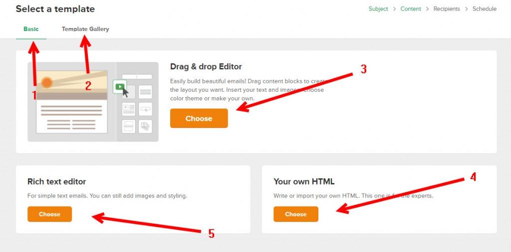 نحوه ارسال ایمیل گروهی در میلر لایت - سایت ساز و فروشگاه ساز پوپش