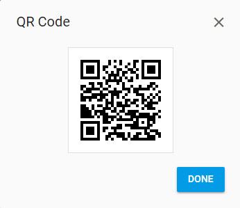 ساخت کد qr از لینک کوتاه شده