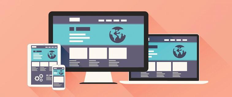 وب سایت در دستگاههای مختلف