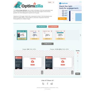 ابزار فشرده ساز تصویر imagecompressor.com