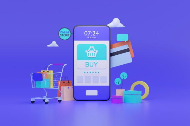 طراحی موبایلی فروشگاه