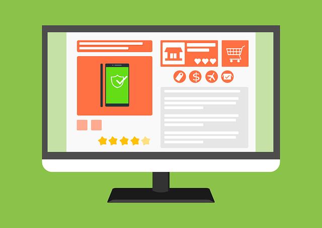 انتخاب قالب فروشگاهی یکی از مراحل ساخت فروشگاه آنلاین